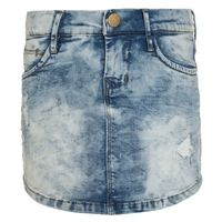 Name it NITTIME Spódnica jeansowa light blue denim
