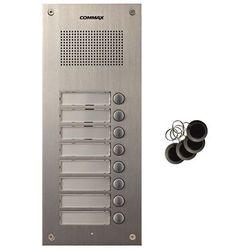 Stacja bramowa ośmioabonentowa z czytnikiem RFID Commax DR-8UM/RFID, DR-8UM/RFID