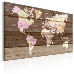 Artgeist Obraz - drewniany świat