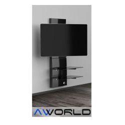 Półka pod TV z maskownicą GHOST DESIGN 3000 z rotacją z kategorii Półki RTV