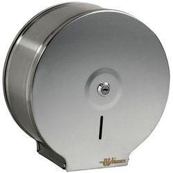 Bisk Pojemnik na papier toaletowy jumbo s1 metalowy (5901487003438)