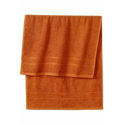 Ręczniki z ciężkiego materiału miedziany marki Bonprix
