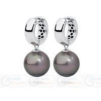 FC Kolczyki z perłą wiszące 3061221014 PM 12 kolor srebrny