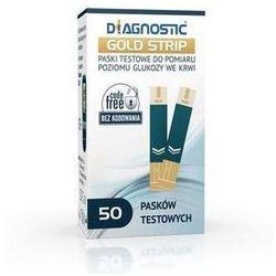 DIAGNOSTIC Gold Strip paski testowe x 50 sztuk z kategorii Paski testowe