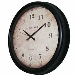 Duży czarny zegar chodzący do tyłu /50cm