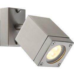 Zewnętrzna lampa ścienna dalyor 34151  ruchoma oprawa elewacyjna led ip44 outdoor prostokątna srebrny, marki Globo
