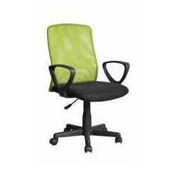 Fotel alex czarno-zielony - zadzwoń i złap rabat do -10%! telefon: 601-892-200 marki Halmar