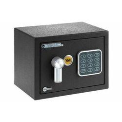 Ysv/170/db1 mały sejf domowy z zamkiem elektronicznym czarny marki Yale