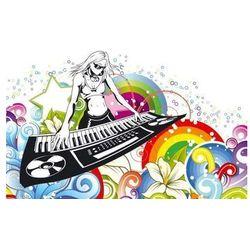 Tablica suchościeralna 151 muzyka marki Wally - piękno dekoracji