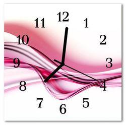Zegar ścienny kwadrat Sztuka abstrakcyjna