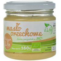 BIOLIFE 160g Masło orzechowe Bio   DARMOWA DOSTAWA OD 150 ZŁ! z kategorii Masła orzechowe, kakaowe i inne