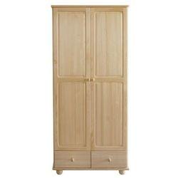 Sosnowa szafa 2-drzwiowa Klasyk SF-12