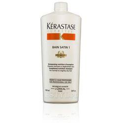 Kerastase Bain Satin 1 - Kąpiel odżywcza do włosów lekko suchych, uwrażliwionych 1000 ml - sprawdź w wybranym sklepie