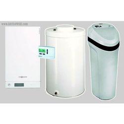 Vitodens 100-W 6,5 - 19,0kW + Aquahome 20-N + podgrzewacz 120l Vitocell 100-W typ CUGA. GZ-50 - produkt z kategorii- Kotły gazowe