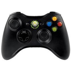 Kontroler MICROSOFT GamePad Bezprzewodowy (Xbox360/PC) Czarny + DARMOWY TRANSPORT!