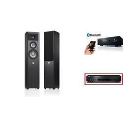 YAMAHA R-S202D + CD-S300 + JBL STUDIO 270 - wieża, zestaw hifi - zmontuj tanio swój zestaw na stronie
