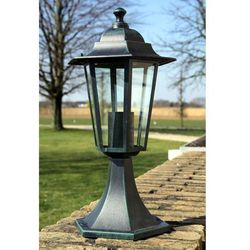 Vidaxl Lampa ogrodowa ciemnozielona (41 cm)