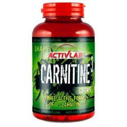 ACTIVLAB Carnitine 3 - 128kaps z kategorii Redukcja tkanki tłuszczowej