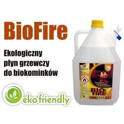 BIOPALIWO - EKOLOGICZNY PŁYN GRZEWCZY DO BIOKOMINKÓW BIOFIRE - 5 LITRÓW