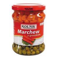 Marchew z groszkiem Rolnik 500 ml