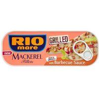 120g grillowane filety makreli w sosie barbecue | darmowa dostawa od 150 zł!, marki Rio mare