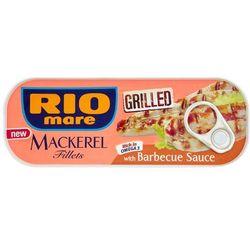 120g grillowane filety makreli w sosie barbecue | darmowa dostawa od 200 zł, marki Rio mare