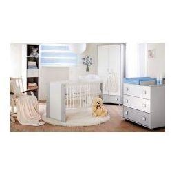 Szafa 2 drzwiowa SAFARI De Luxe, biały-popiel - produkt z kategorii- Szafy i szafki