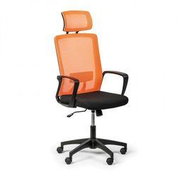 B2b partner Krzesło biurowe base plus, pomarańczowy