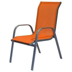 krzesło ogrodowe, pomarańczowe marki Happy green