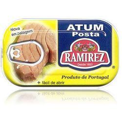 Portugalski stek z tuńczyka w oleju  120g wyprodukowany przez Ramirez