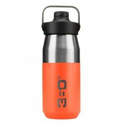 Butelka termiczna vacuum insulated stainless wide mouth bottle with sip cap 550 ml pomarańczowa marki 360 degrees