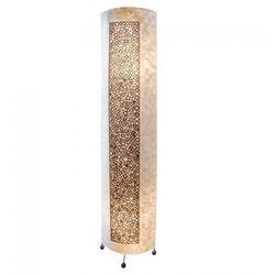 Globo bali lampa stojąca czarny, 2-punktowe - ponadczasowy - obszar wewnętrzny - bali - czas dostawy: od 6-10 dni roboczych (9007371368976)