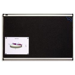 tablica piankowa prestige 120x90cm, czarny marki Nobo