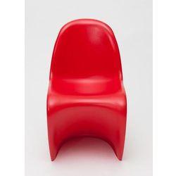 Krzesło dziecięce Balance Junior inspirowane Panton Jr - czerwone