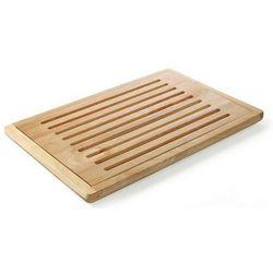 Drewniana deska do krojenia chleba z wyjmowaną kratką | 475x322mm marki Hendi