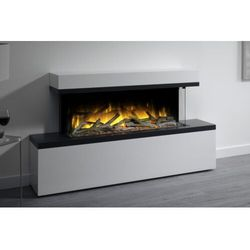 Flamerite fires - nowość 2021 Kominek wolnostojący flamerite fires tropo 1000. efekt płomienia nitra flame - 20 kolorów ognia - promocja