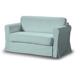 Dekoria pokrowiec na sofę hagalund, pastelowy błękit, sofa hagalund, cotton panama