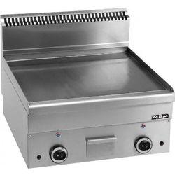 Płyta grillowa stołowa,gładka chromowana - gazowa MBM600, produkt marki Hendi