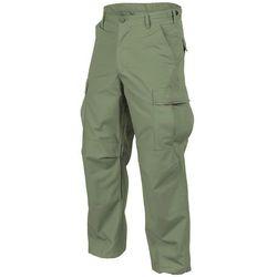spodnie Helikon BDU Cotton Ripstop olive green LONG (SP-BDU-PR-02), rozmiar od S do XXL, zielony