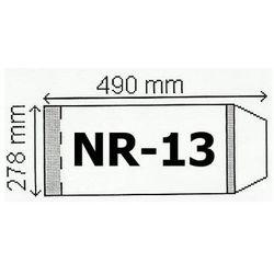 Okladki na podrecznik a4 regulowane nr.13 - 278mm opakowanie 50 szt - sprawdź w TaniaKsiazka.pl
