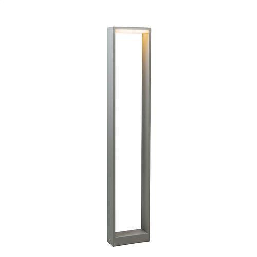 Lampa zewnętrzna Frame 80 LED srebrno szara z kategorii lampy ogrodowe