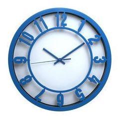 Atrix Zegar ścienny arabic niebieski