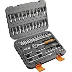 Neo Zestaw kluczy nasadowych  08-660 1/4 cala (46 elementów)