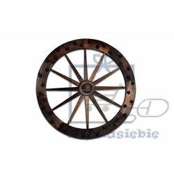 Garthen Koło drewniane - stylowa rustykalna dekoracja 90 cm (4025327350306)