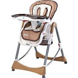 Caretero  krzesełko do karmienia bistro, beige, kategoria: krzesełka do karmienia