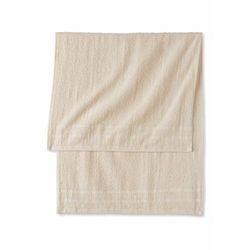 Komplet ręczników (6 części) kremowy marki Bonprix