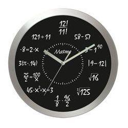 Atrix Zegar aluminiowy matematyka #8