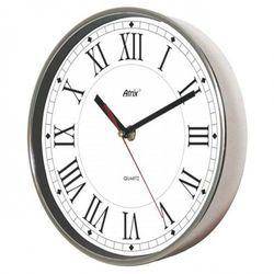 Zegar ścienny chromowany roman marki Atrix