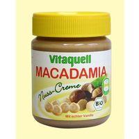 Masło z orzechów macadamia BIO 250g - Vitaquell (4003247201205)