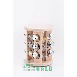 obrotowa półka 12el. jasne drewno połysk 5901832920014 marki Gald